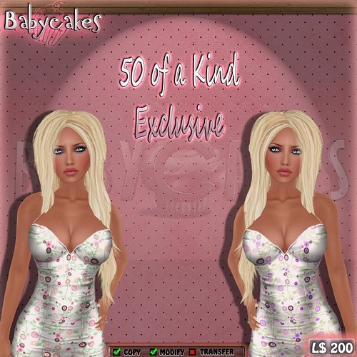 [BC] 50 of a Kind Exclusive - Spring Has Sprung Dresses | by Christa Pizzicato