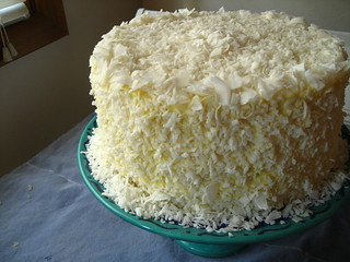 Southern Coconut Cake Sour Cream