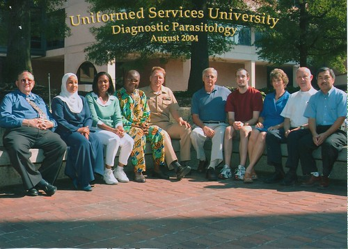 2004 Diagnostic Parasitology Course, USUHS, Bethesda, MD | by Armed Forces Pest Management Board