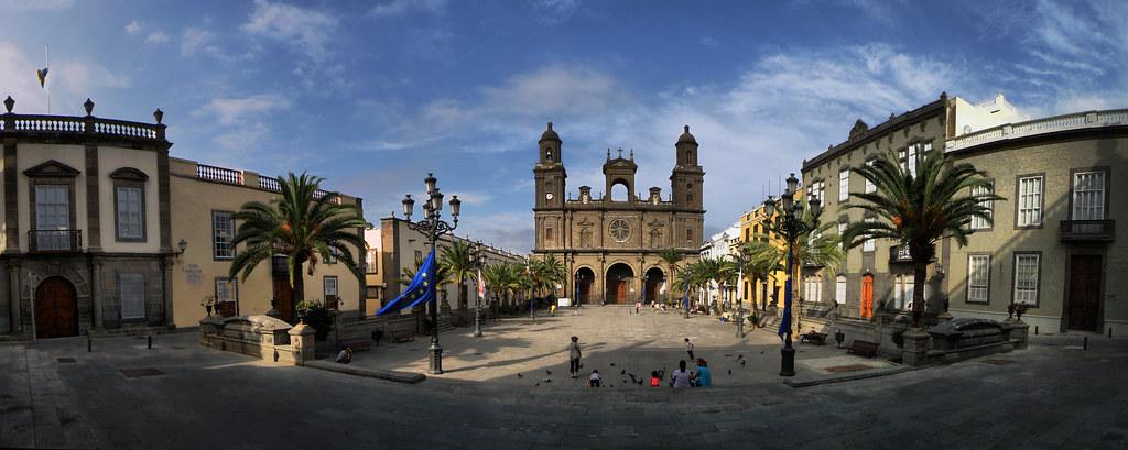Plaza Santa Ana te Las Palmas op GRan Canaria