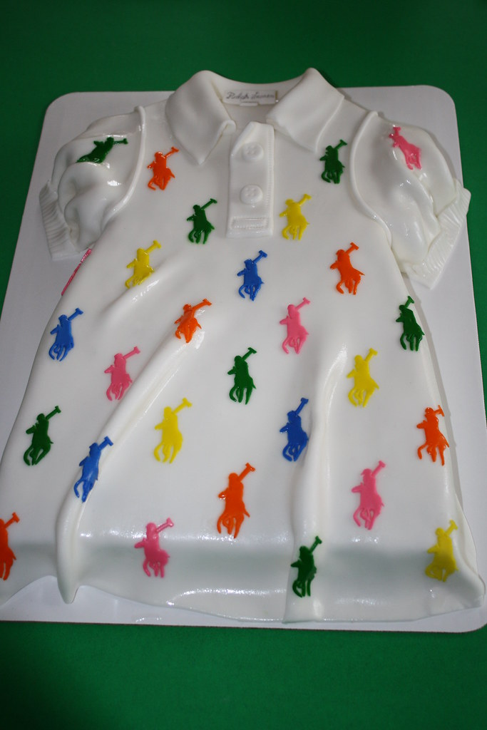Baby Polo Dress Cake Baby Polo Dress Cake Signature Sweets By