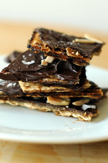 matzo toffee with almonds | by sassyradish