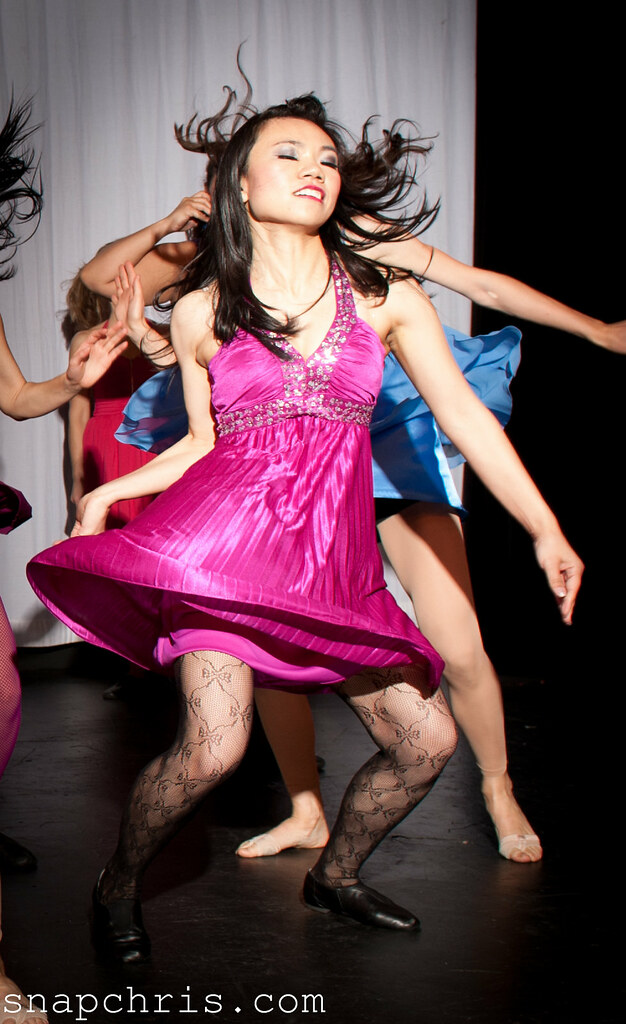 Asian dance girl