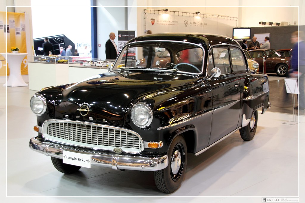Opel Olympia Rekord Sedan 1.5 Manual, 45hp, 1956