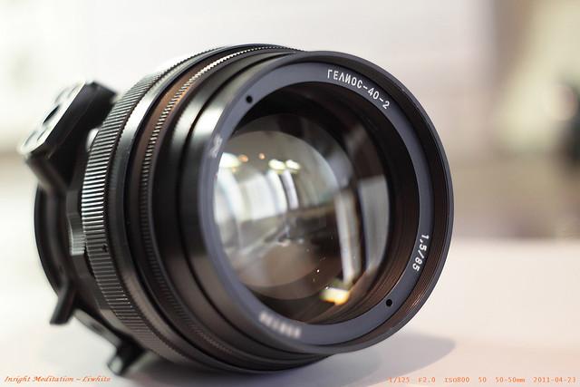 老鏡生力軍 ~ 太陽神 Helios 40-2 85mm f1.5