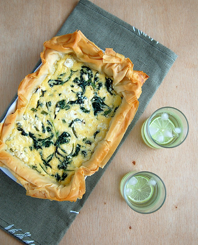 Spinach and three-cheese pie / Torta de três queijos e espinafre | by Patricia Scarpin