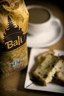 Coffee Walnut Pound Cake