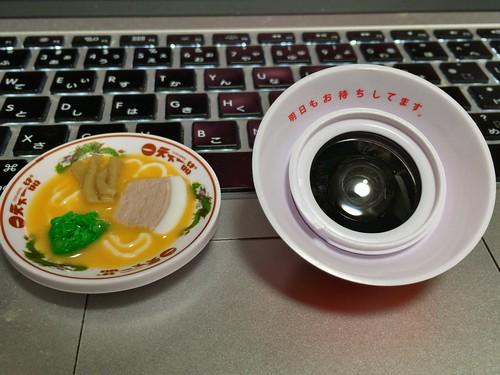 Tenkaippin Kotteri smartphone ramen noodle figured wide conversion lens 05