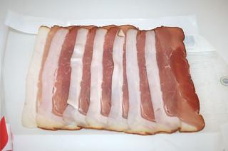 09 - Zutat geräuchter Schinken / Ingredient smoked ham