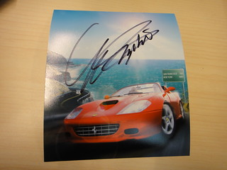 OutRun Art - Signed by Yu Suzuki | by SEGA of America