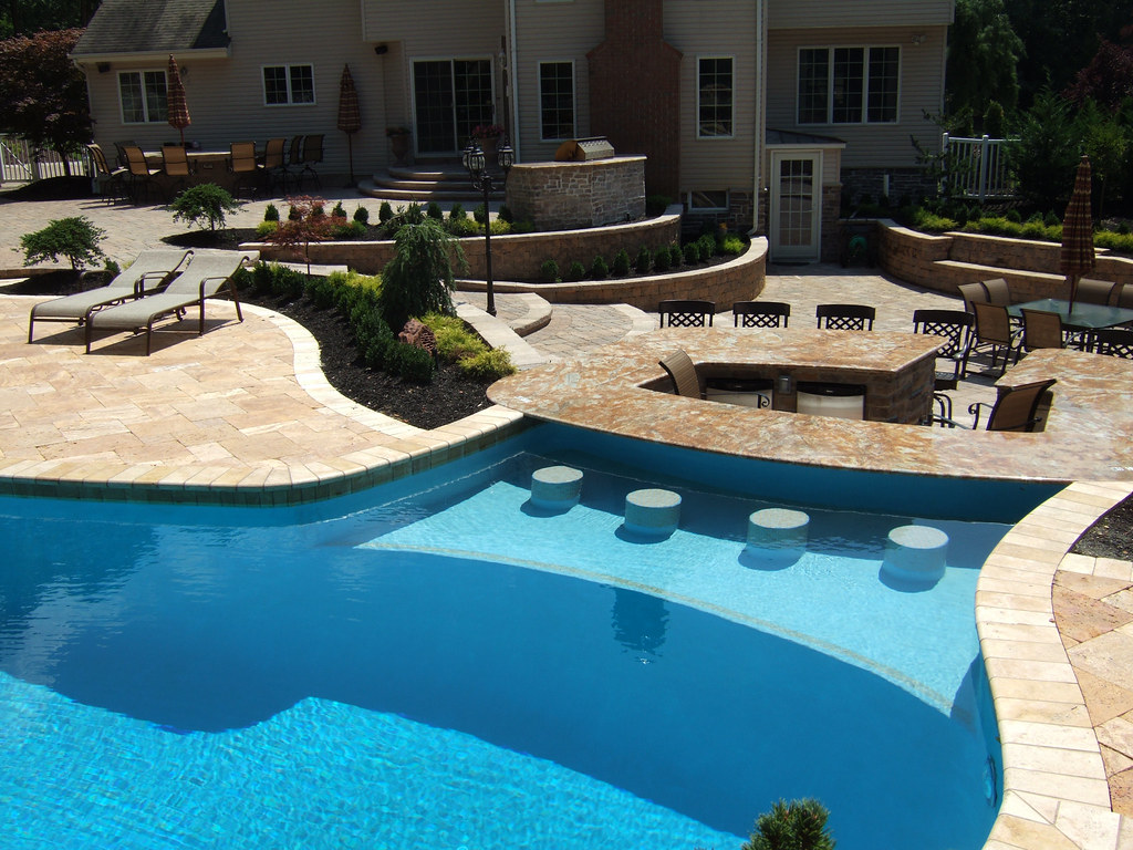 ... NJ Pool Designs And Landscaping For Backyard | By CustomPoolPros.com