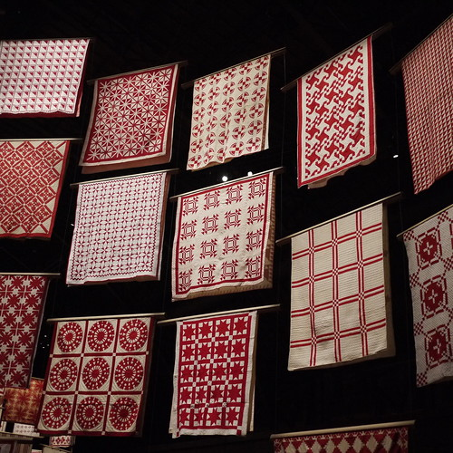 Infinite Variety 650 Red Amp White Quilts At The Park