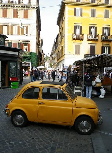Fiat 500, Via Corsa / Via Della Croce 1