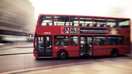Blurred Bus | by kirberich