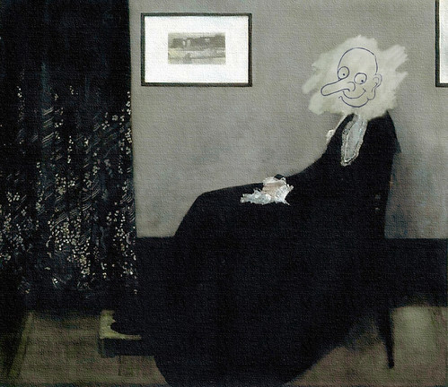 Whistler's Mother (inspired by Mr. Bean) | by Frank Reichow