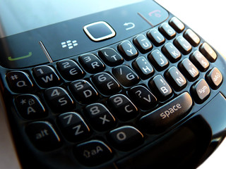 Blackberry Curve 8520 Keypad | by langleyo