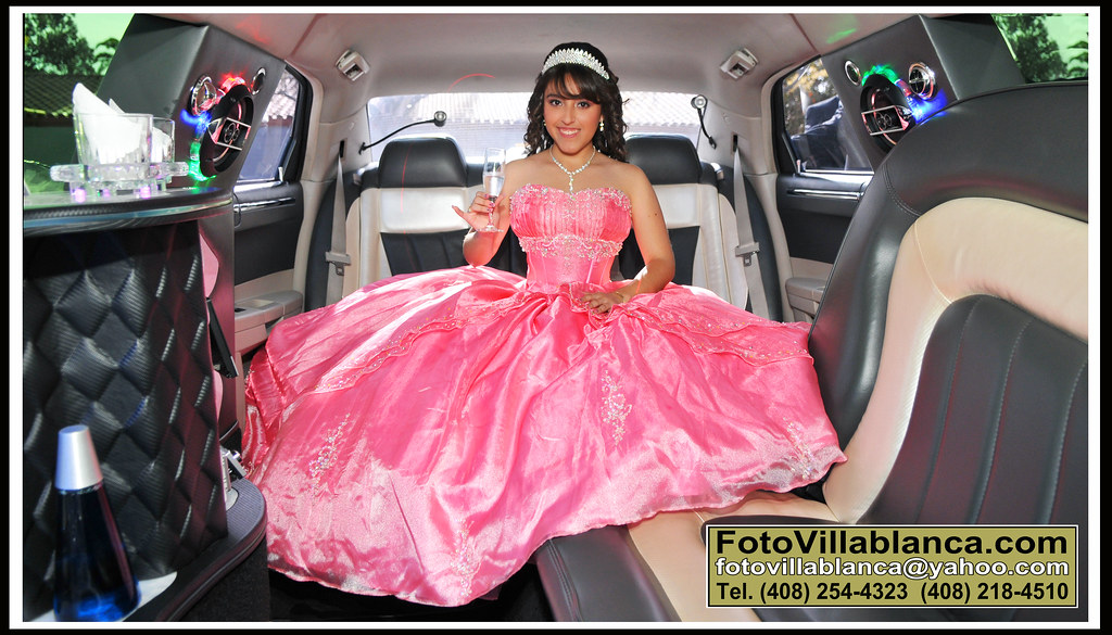 San Jose Santa Clara Francisco Limousines Service Quinceaneras Debutantes Sweet Sixteens 15 Birthdays Bat Mitzvah