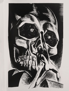 "Lynd Ward - Wood Engraving for ""Song Without Words"" 1936 