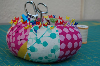 Echino Pin Cushion Caddy | by idreaminfabric