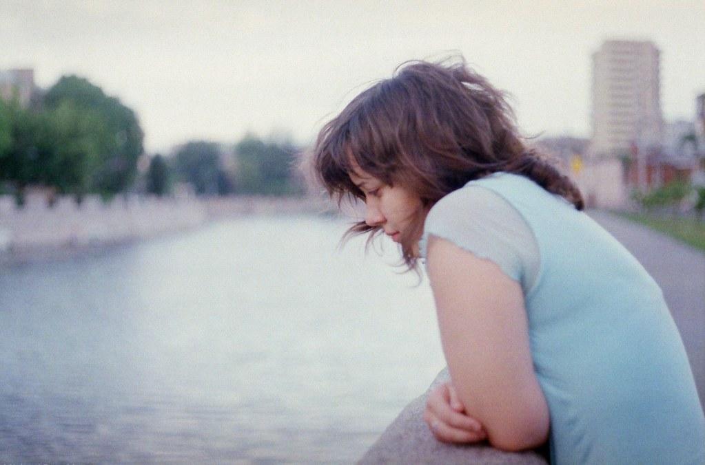 Sad girl...
