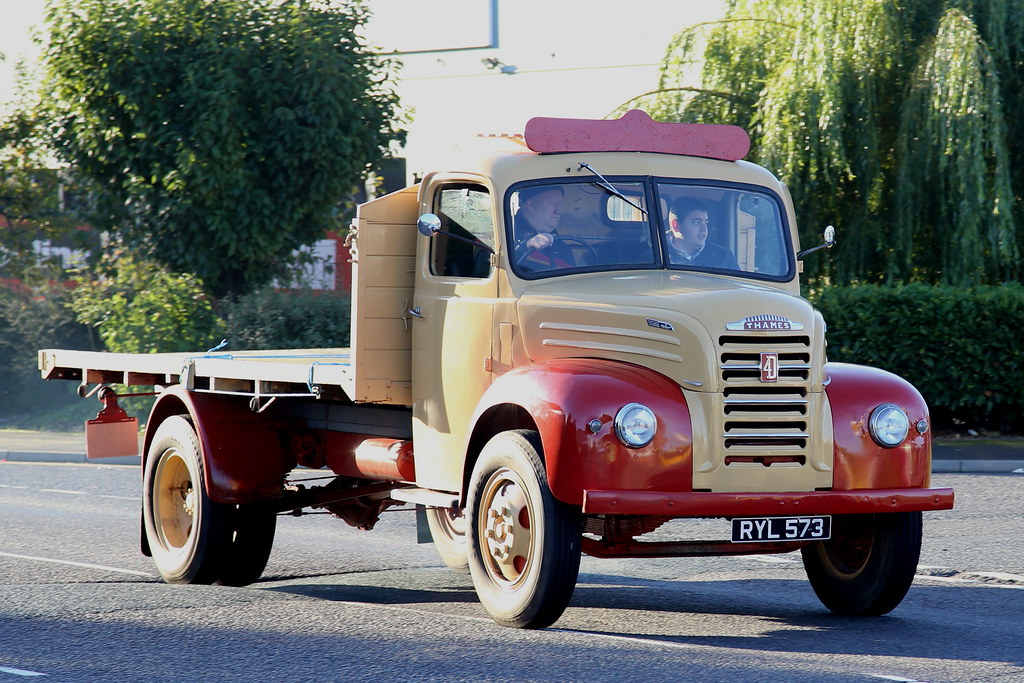 Ford Thames Trader Flat RYL573 Frank Hilton IMG_9209 | Flickr