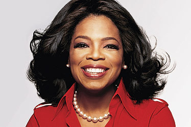 Oprah Winfrey - has masses of personal power