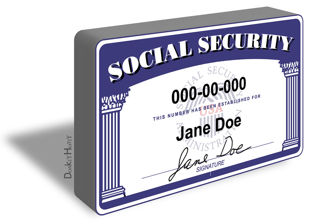 Social Security Disability Pay Chart: Social Security Card - Illustration | Illustration: 3D Sociau2026 | Flickr,Chart