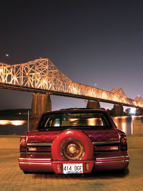 1994 Lincoln Town Car Lowrider Jaw Propper 2 Custom 1994 Flickr