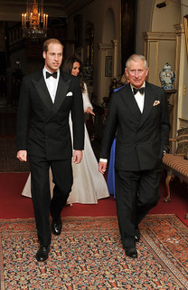 Evening wedding reception | by The British Monarchy