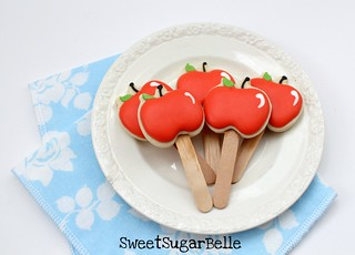 Apple Cupcake toppers | by SweetSugarBelle