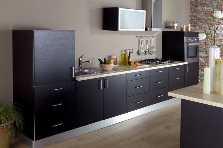 Cuisine Equipee Wenge Modele Design Mat Florence Flickr