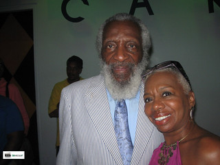 Journalist Lillian Smith with her mentor Human Rights Activist Dick Gregory. | by The Yes We Can.TV