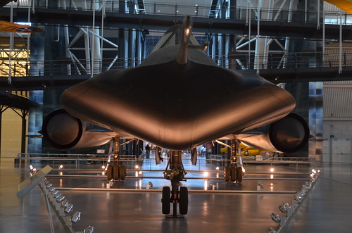 Steven F. Udvar-Hazy Center: SR-71 Blackbird (nose view) | by Chris Devers
