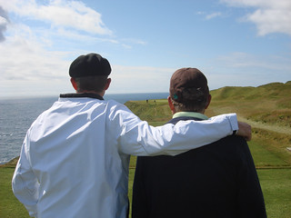 Father and Son at Old Head | by erikrasmussen