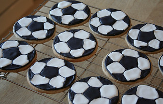 soccer cookies | by duckyhouse