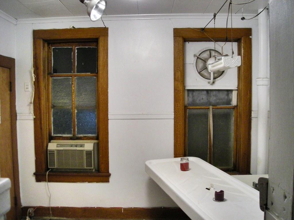embalming preparation room former Johnson Funeral Chapel Flickr