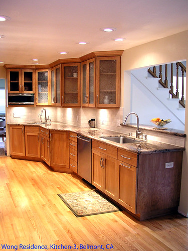 Custom Complete Kitchen Design Remodel Belmont Ca Flickr