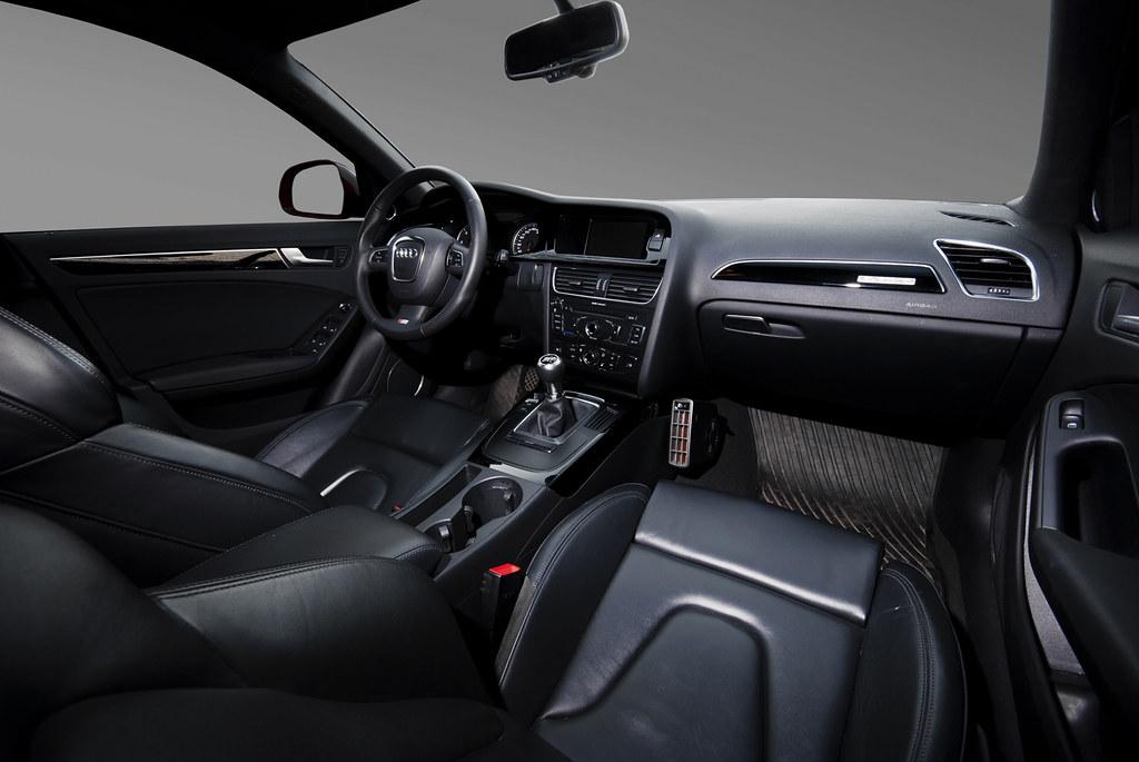 Audi A4 S-line Interior | Nicklas Holmqvist | Flickr