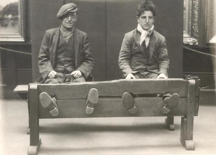 in the stocks by tyne wear archives museums