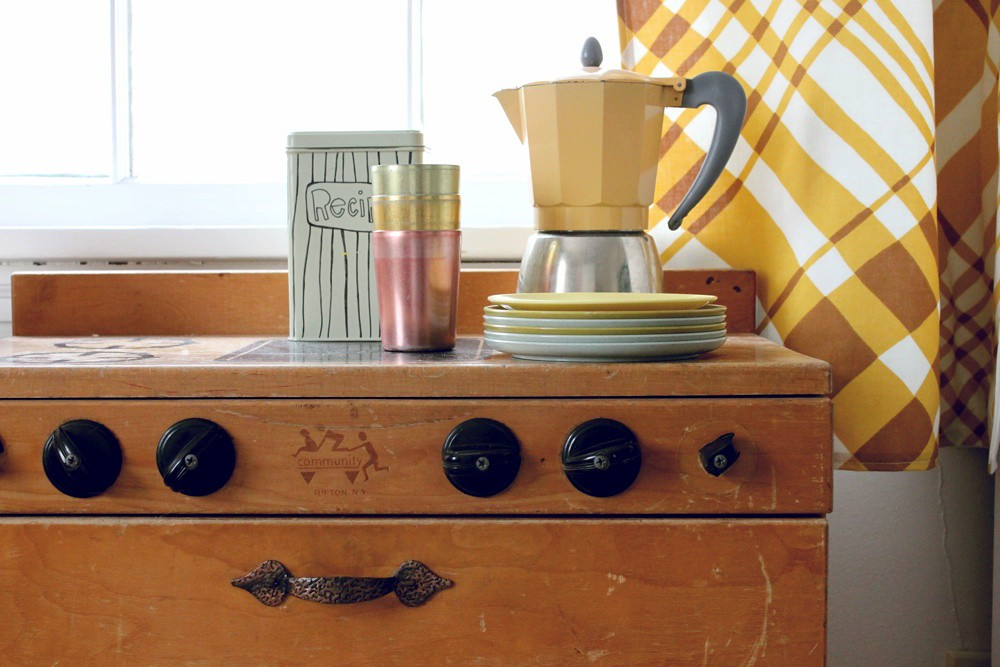 ... Vintage Play Kitchen | By Smile And Wave