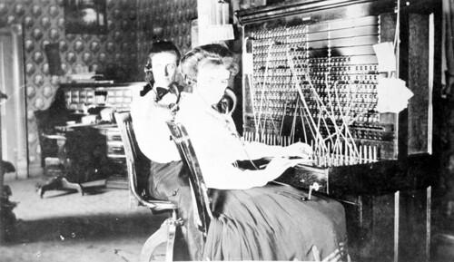 Telephone switch board