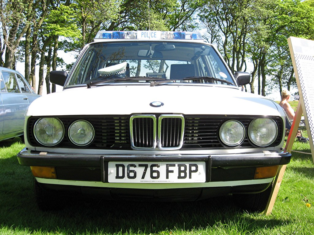 Bmw E28 5 Series Police Car 02 1987 Pol Flickr By Peter B2008