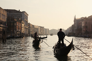Setting Sun over the Grand Canal | by stephamelon