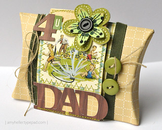Father's Day Pillow Box | by Amy_Heller
