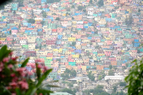 Col orful Houses in Port au Prince