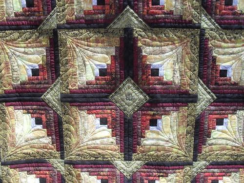 Kinabalu | Pieced by Linda Buffington. Original motif ...