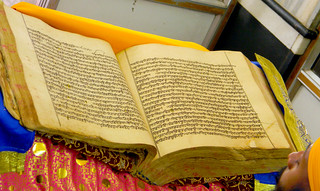 Sri Guru Granth Sahib Ji Maharaj - 300 year old Saroop | by rajasgh