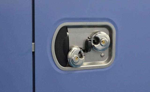 ... Steel Storage Self Storage Recessed Door Lock With Overlock | By Steel  Storage