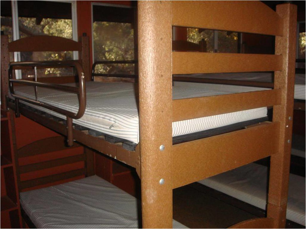 Recycled Plastic Bunk Beds Shalom Institute Camp Conference