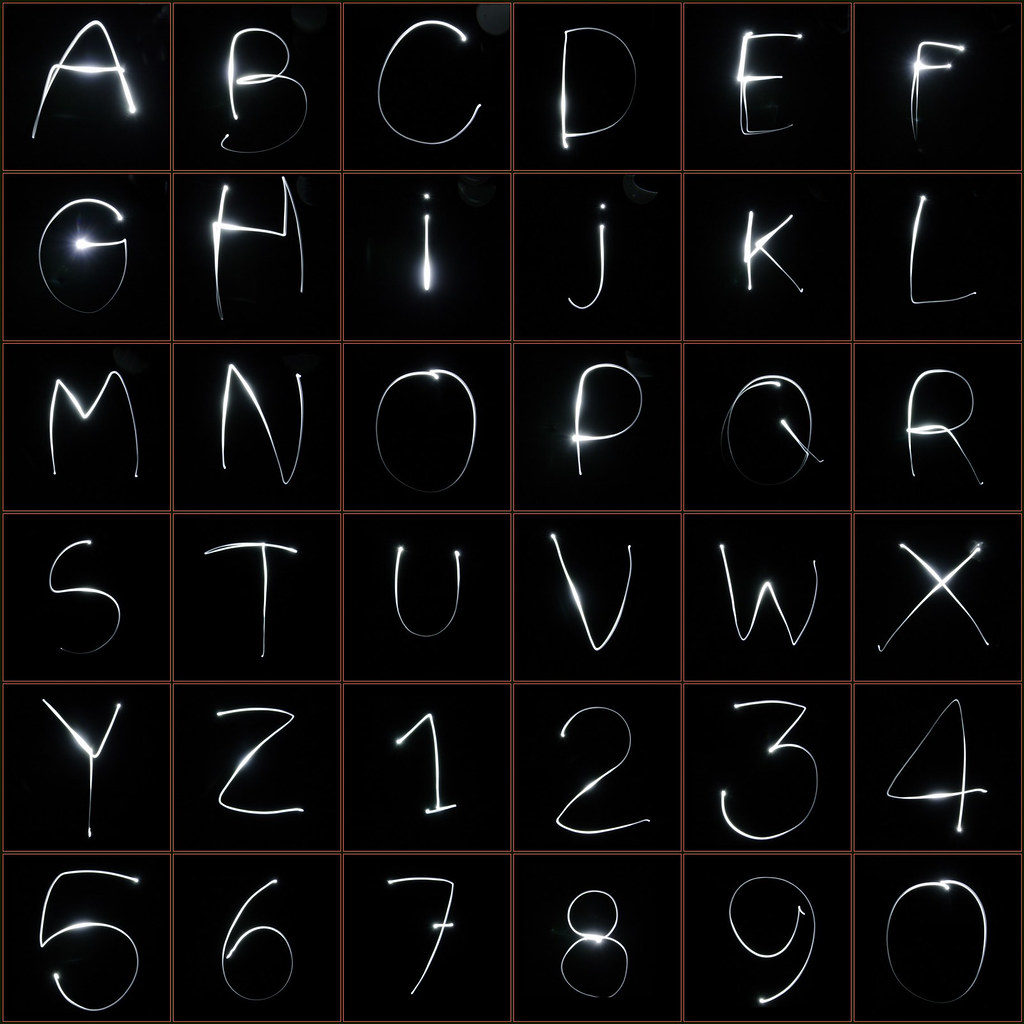 alphabet light monique van der lint flickr